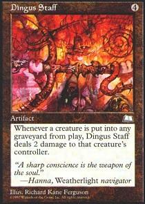 Dingus Staff