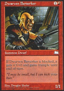Dwarven Berserker