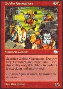 Goblin Grenadiers