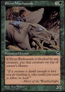 Elven Warhounds