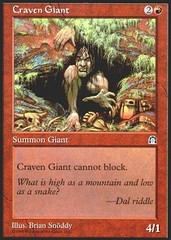 Craven Giant on Channel Fireball