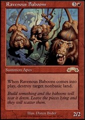Ravenous Baboons on Channel Fireball
