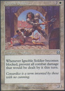 Ignoble Soldier