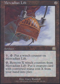 Mercadian Lift