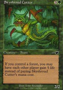 Skyshroud Cutter