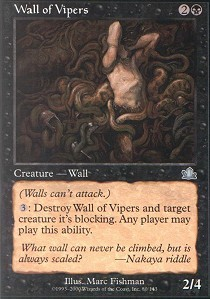 Wall of Vipers