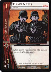 Damn Nazis, Army