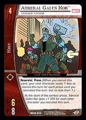 Admiral Galen Kor, Lunatic Legion