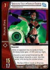 Shrinking Violet - Emerald Empress, Emerald Vi