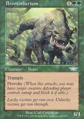 Brontotherium on Channel Fireball