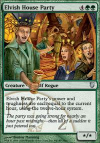 Elvish House Party
