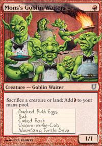 Monss Goblin Waiters