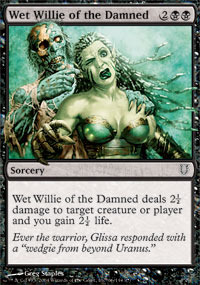 Wet Willie of the Damned