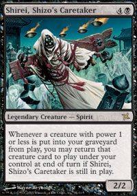 Shirei, Shizos Caretaker