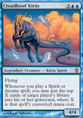 Cloudhoof Kirin on Channel Fireball