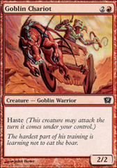Goblin Chariot on Channel Fireball