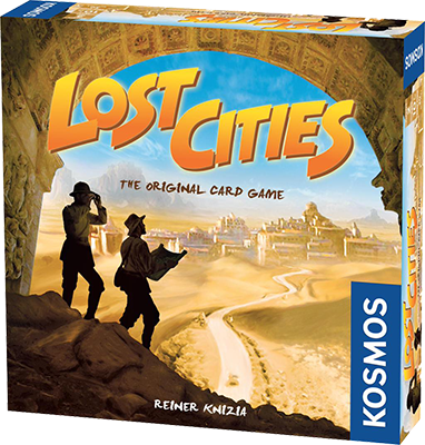 Lost Cities (Two-player Card)