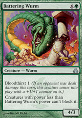 Battering Wurm on Channel Fireball