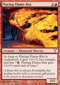 Flaring Flame-Kin