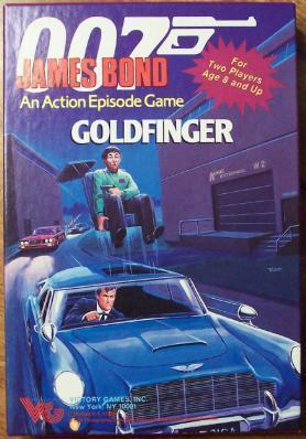 007 James Bond - Goldfinger