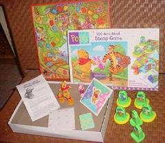 100 Acre Wood Stamp Game
