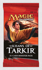 Khans of Tarkir Booster Pack on Channel Fireball