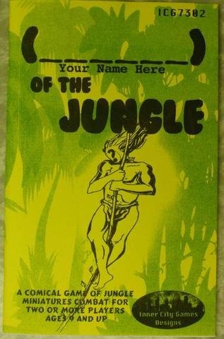 (your name here) of the Jungle