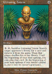 Grinning Totem on Channel Fireball