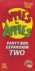 Apples to Apples Party Box Expansion TWO