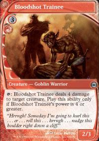 Bloodshot Trainee