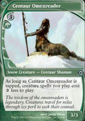 Centaur Omenreader on Channel Fireball