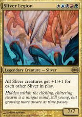 Sliver Legion on Channel Fireball