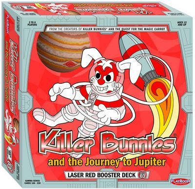 Killer Bunnies and the Journey to Jupiter: Laser Red Booster Deck