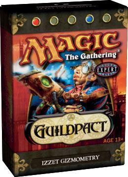 Guildpact Izzet Gizmometry Precon Theme Deck