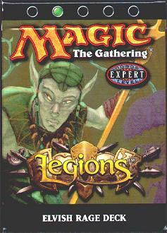 Legions Elvish Rage Precon Theme Deck