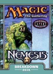 Nemesis Breakdown Precon Theme Deck