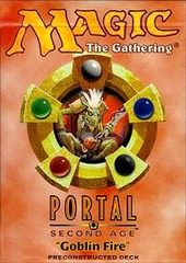 Portal Second Age Goblin Fire Precon Theme Deck