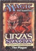 Urza's Saga The Plague Precon Theme Deck