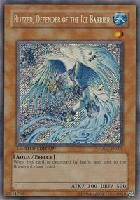 Blizzed, Defender of the Ice Barrier - HA01-EN001 - Secret Rare - Limited