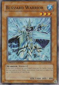 Blizzard Warrior - HA01-EN002 - Super Rare - Limited