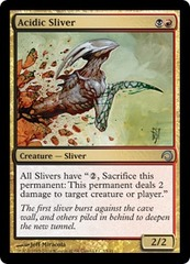 Acidic Sliver - Foil on Channel Fireball