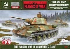 T-34 obr 1942 - Platoon Box Sets