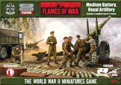 Medium Battery, Royal Artillery - Platoon Box Sets
