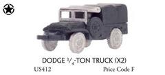Dodge 3/4 ton truck (x2) - Vehicle, Truck