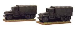 GMC 2 1/2-ton truck (x2) - Vehicle, Truck A