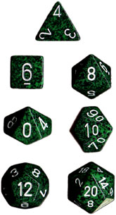 Speckled 7 Dice set (CHX25325) - Recon