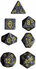 Speckled 7 Dice set (CHX25328) - Urban Camo