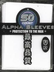 Max Protection Alpha White Large Sleeves