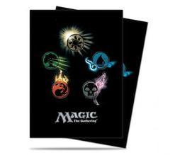 Mana 4 - Symbols - Standard Deck Protectors for Magic 80ct