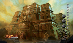 Conflux Ancient Ziggurat Playmat